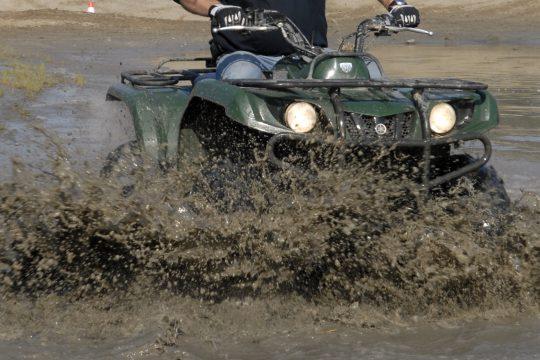 Quad rijden Off Road Terrein